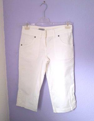 C&A Pantalon 3/4 blanc-blanc cassé
