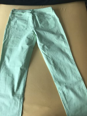 Arizona Pleated Trousers mint cotton