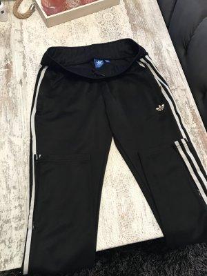 Adidas Originals Pantalone blu scuro-bianco