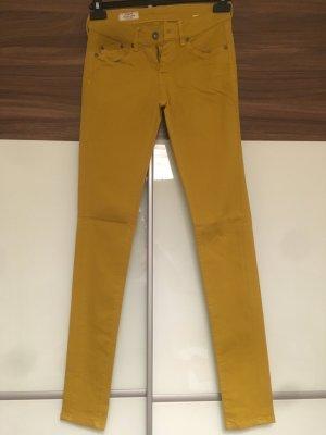 Pepe Jeans Lage taille broek licht Oranje