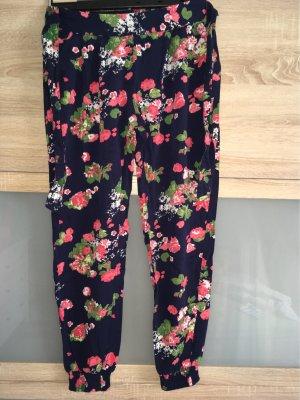 AJC Pantalón estilo Harem multicolor