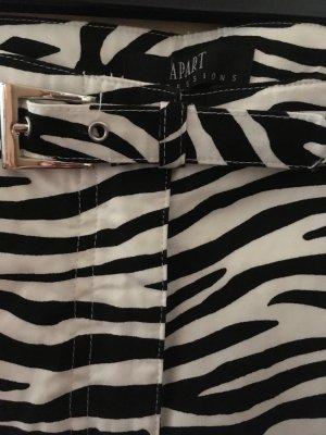 Apart Pantalon blanc-noir