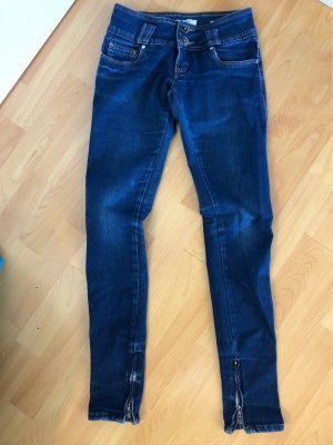 Peg Top Trousers blue