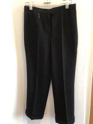 FFY Pantalone a pieghe nero