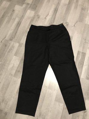Brax Pantalone a pieghe nero