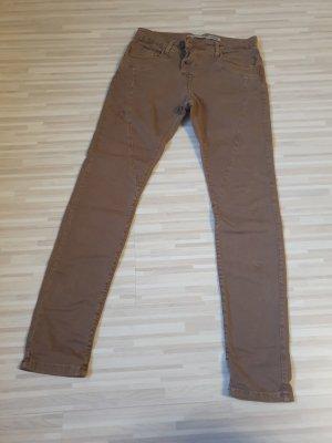 Please Pantalon boyfriend brun