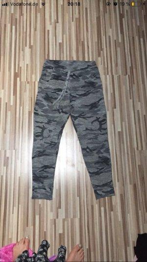 Pantalone boyfriend grigio