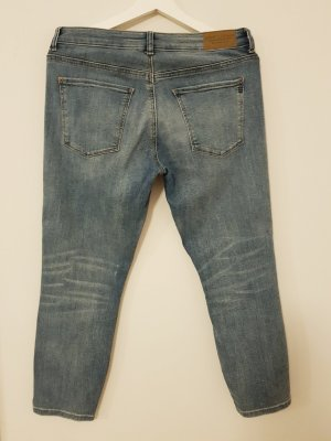 esprit collection Pantalone a 3/4 blu pallido