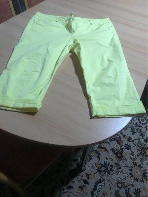 C&A Pantalon 3/4 jaune