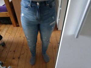 H&M 3/4 Length Trousers azure