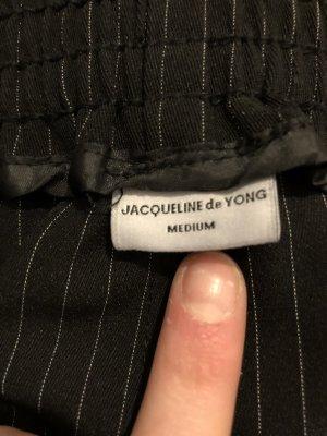 Pantalón de campana negro-gris claro