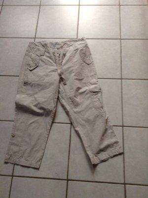 Street One Pantalon 3/4 beige clair coton