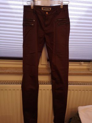 Noisy May Pantalone a sigaretta bordeaux