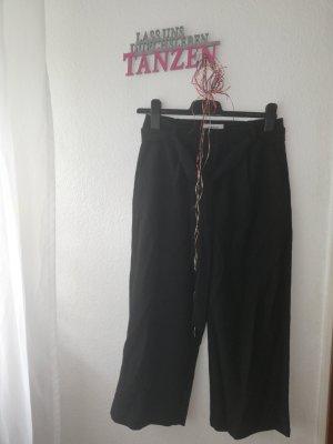 Pieces Falda pantalón negro