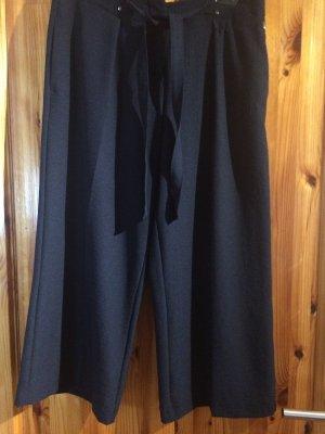 s.Oliver Falda pantalón de pernera ancha azul oscuro