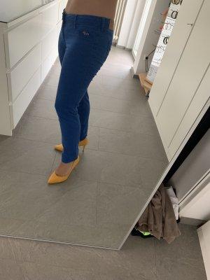 Hollister Pantalón de pinza alto azul