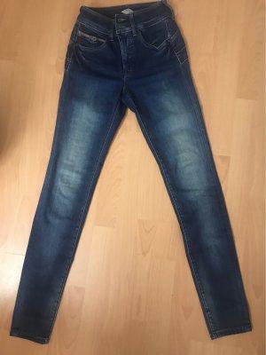 Salsa Jeans Pantalon 7/8 bleu foncé