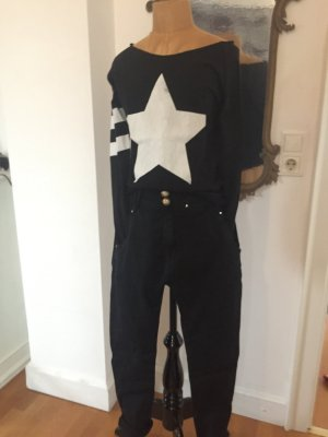 Boyfriend Trousers black