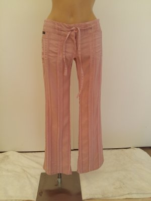 Dolce & Gabbana Low-Rise Trousers dusky pink cotton