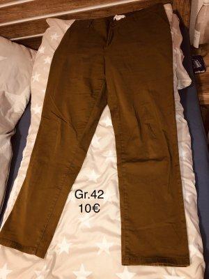 H&M Pantalone da abito ocra