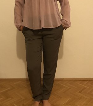 Alba Moda Trousers grey brown
