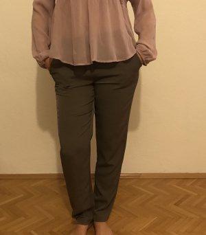 Alba Moda Broek grijs-bruin