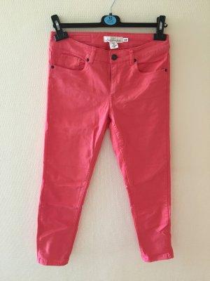Hose/ Anke Jeans, coralfarben, H&M L.O.G.G.
