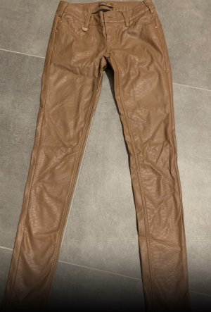 Leather Trousers light brown