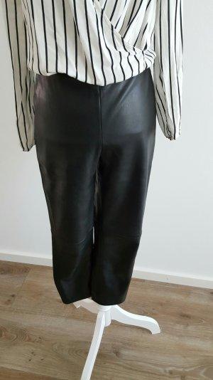 Hose aus Lederimitat von Mango Suit