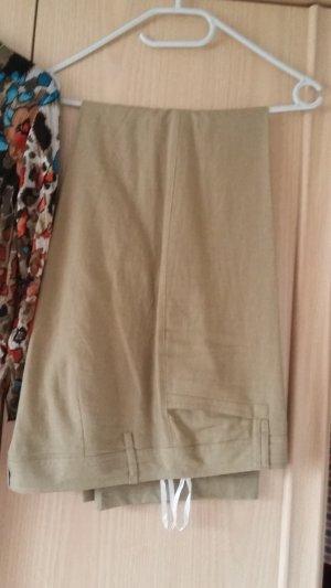Pantalón de lino beige Lino