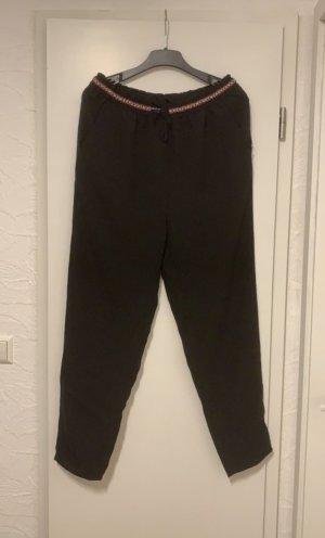 H&M Pantalón estilo Harem negro