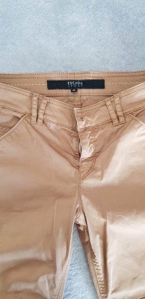 Esprit Pantalone chino marrone chiaro Viscosa