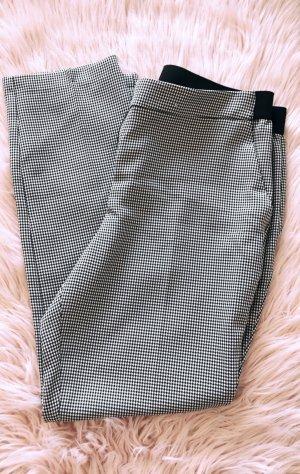 Primark Pantalon 3/4 noir-blanc polyester