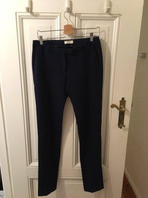 Ba&sh Stoffen broek donkerblauw