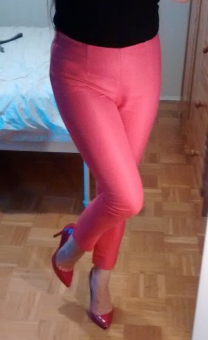 Hose Banana Republic Gr. 32 34 XS rosa pink karotten zigarettenhose röhren slim