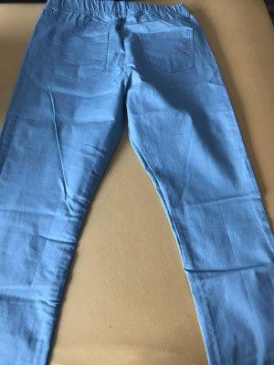 Alfredo Pauly Pantalon à pinces bleu clair