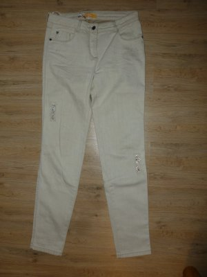 Biba Tube Jeans cream