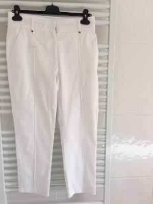 Belstaff Pantalon 7/8 blanc coton