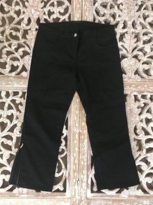 Sisley 7/8 Length Trousers black cotton
