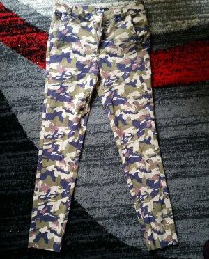 Jeans 3/4 multicolore