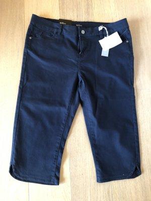 3/4-broek donkerblauw