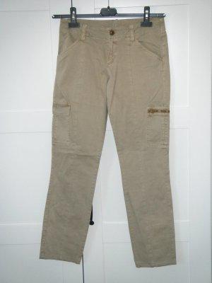 Hose, Cargohose, Bikerhose, Workerhose, Esprit, taupe, khaki, Gr. 36