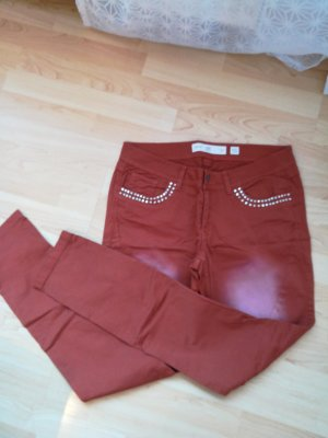 Q/S Trousers light brown-brown