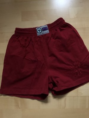 PLUSMINUS created by Chiemsee Shorts rosso scuro