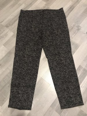 Cambio Woolen Trousers white-black