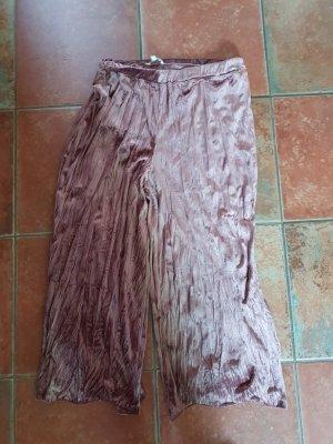 Hose Damen Gr. XL von Tom Tailor puder-rosa und Samt-Optik
