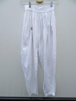 Vintage Pantalón estilo Harem blanco