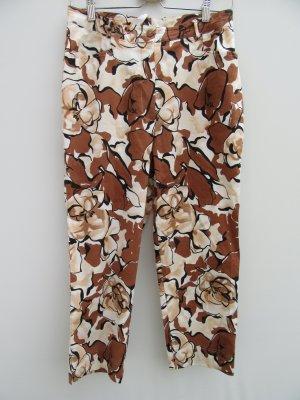 Vintage 7/8 Length Trousers brown