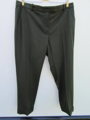 COS Pleated Trousers dark green