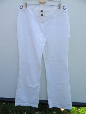 Vintage Pantalón de campana blanco